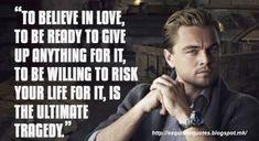 Leonardo Dicaprio Zitiert Lieblingszitate Glucklich Menschen Leben Inspirierende Zitate