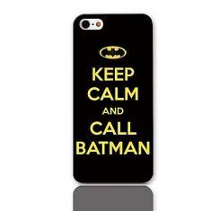 """Compre em www.quartogeek.com.br >> Capa """"Keep Calm and Call Batman"""" (Iphone 5 e 5s)   Loja Quarto Geek"""