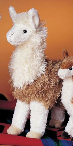 Sewing Stuffed Animals Douglas Paddy O' Llama - At tall, this amazingly true to life llama is super soft and cuddly, ready to steal your heart. A perfect combination of short and long ultra cushy fur is irresistible. Llama Plush, Llama Alpaca, Baby Alpaca, Llama Stuffed Animal, Sewing Stuffed Animals, Stuffed Toys, Alpacas, Barnyard Animals, Zoo Animals