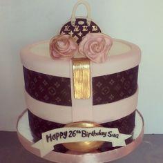 Louis Vitton cake II