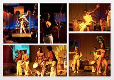 Brazilian Carnivale Party: Entertainment: Capoeira Dancers and Samba Girls