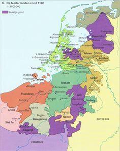 1100 Teisterbant-Hamaland uiteengevallen in Sticht-Betuwe-Veluwe-Zutphen-Oversticht-Gelder en enkele kleine staatjes als Ravestein, Cuijk met Boxmeer, Kessel en Horn. Friesland is onbewoond. Overige komt voort uit Swifterbant.