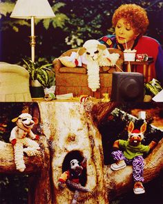 Lambchop!!! i remember coming home from school, eating a hot-dog and watching this..alot lol