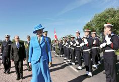 royalwatcher:  Queen Margrethe during the 70th Anniversary Commemoration of D-Day, June 6, 2014.
