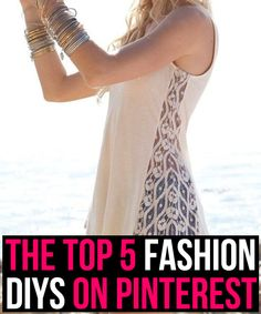 The Top 5 Fashion DIYs on Pinterest <-----Just so you guys know, I wrote this (: