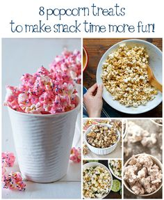 8 Popcorn Recipes to dress up your favorite snack!