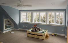 9 Harmonious ideas: Finished Attic Loft attic home loft stairs. Attic Loft, Loft Room, Bedroom Loft, Attic Library, Attic House, Attic Office, Attic Ladder, Bedroom Rustic, Bedroom Windows