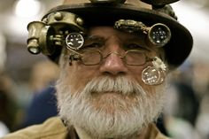 now this is Steampunk; face included!