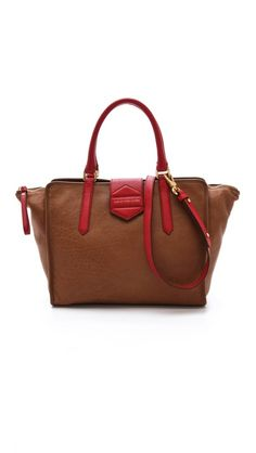 Marc by Marc Jacobs Flipping Out Colorblocked Tote  Big and gorgeous, not to mention practical.