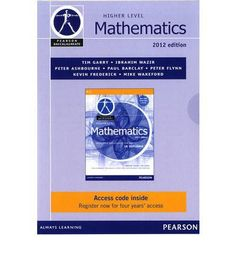 The most complete solution available for IB Diploma Mathematics. This is the fully revised and improved 2nd edition of the highly regarded textbook already used successfully by teachers worldwide. ISBN: 9780435141929