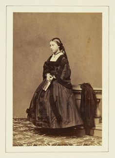 Princess Helena, May 1860 [in Portraits of Royal Children Vol.5 1860-1861]   Royal Collection Trust