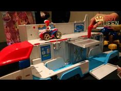 The New Paw Patrol, Paw Patroller Toy Reveal From ToyQueen.com - YouTube