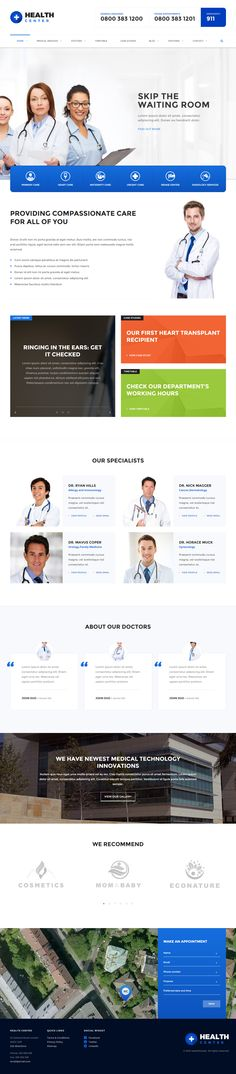 HealthCenter is Premium #Responsive Retina #WordPress #Medical Theme. Parallax Scrolling. Visual Composer. Bootstrap 3 Framework. Test free demo at: http://www.responsivemiracle.com/cms/healthcenter-premium-responsive-medical-wordpress-theme/