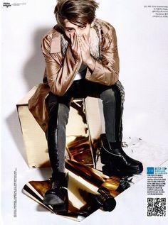 #Kim #Jonghyun in ELLE Magazine