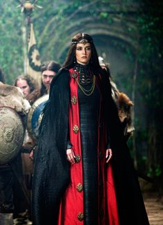 """Eva Green in the show """"Camelot"""""""