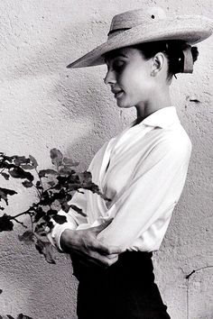 Audrey Hepburn during the filming of The Unforgiven in Durango,...