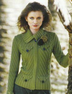 Jachetă texturate cu buzunare false