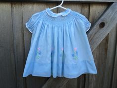 Nannette Baby Dress 9/12 Months by lishyloo on Etsy