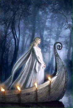 La fée Viviane est aussi la Dame du Lac : elle a enchanté Merlin et guidé Arthur vers Avalon. The fairy Viviane is also the Lady of the Lake: she enchanted Merlin and guided Arthur towards Avalon. Fantasy, Celtic, Fantasy Art, Mystic, Art, Arthurian, Fairy Tales, Elves, Sacred