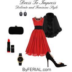 """Dress To Impress"" by byferial on Polyvore"