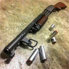 Looks to be an Ithaca 37 trench model. Weapons Guns, Guns And Ammo, Bushcraft, Tactical Shotgun, Firearms, Shotguns, Fire Powers, Custom Guns, Military Guns