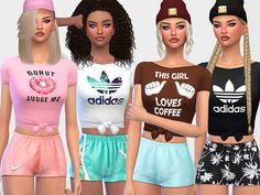 Available in 19 designs^^  Found in TSR Category 'Sims 4 Female Everyday'