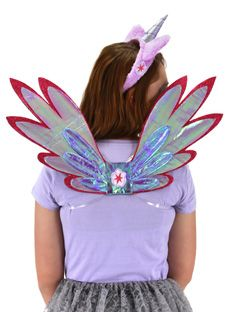 Adult Women/'s Teen Kids My Little Pony Lavender Twilight Sparkle Unicorn Wings