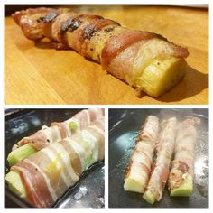 Raparpekonin valmistus on helppoa - raaka-aineita tarvitaan vain kolme. Kuvat: Pasi Kuronen Fresh Rolls, Sushi, Ethnic Recipes, Food, Hoods, Meals, Sushi Rolls