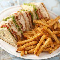 Receta de Club Sandwich