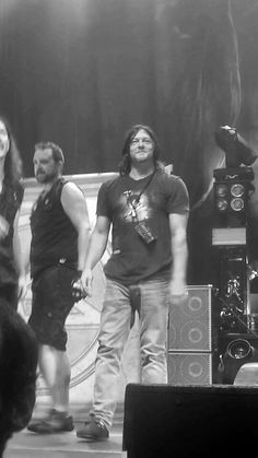 Norman Reedus and Anthrax