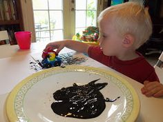 i'm going to make it (after all): 100 (Attempted) Ways to Entertain a Young Toddler, Day 80: Paint with Cars