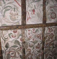 Tudor wall painting, Museum of Canterbury   Flickr - Photo Sharing!
