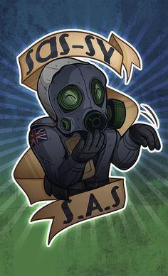 Sassy S.A.S CSGO Sticker by zombie on DeviantArt