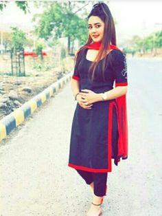 Pakistani Call Girls in Dubai Pakistani Escorts in Dubai Salwar Suit Neck Designs, Neck Designs For Suits, Salwar Designs, Blouse Designs, Punjabi Fashion, Indian Fashion, Suit Fashion, Fashion Dresses, Fasion