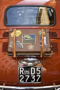 #Fiat500 #cars. (I want this on the back of my Cabrio! Roy)