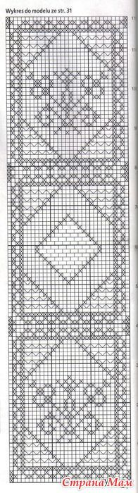 Филейный пэчворк-2 - Филейное кружево - Страна Мам