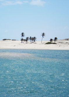Aguas Belas Beach, Cascavel, Ceara, Brazil.