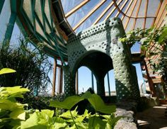 We can all strive for environmentally-friendly travel, but at one Arizona hotel you can actually live the green lifestyle. The Phoenix Earthship offers people the chance to stay in self-sufficient housing made from recycled materials. It even comes with its own lush interior jungle. (Phoenix Earthship)