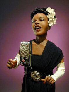 "Creager Studios - ""Herero Woman"", hyper realistic figurative art dolls, http://www.creagers.com, Billie Holliday"