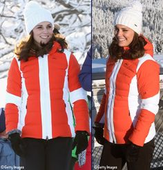 A pregnant Kate (3rd child) in cold weather gear for their final Royal Tour 2018 engagements in Norway