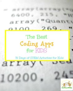 Don't know where to start with coding? These coding apps for kids offer some of the best ways to learn practical coding skills and still have fun!