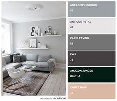 Plascon trending articles is good place to know what is trending in terms of paint Exterior Color Palette, Exterior Paint Colors For House, House Colors, Plascon Paint Colours, Grey Paint Colors, Bedroom Color Schemes, Bedroom Colors, Colour Schemes, Gray Interior