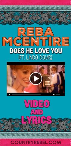 Reba McEntire feat. Linda Davis - Does He Love You
