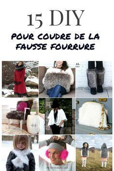 15 DIY et patrons pour coudre de la (fausse) fourrure | tutoriels de couture | Blog de Petit Citron