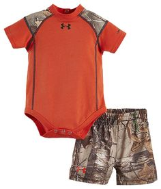Under Armour Realtree Bangin' Bodysuit and Shorts Set for Babies | Bass Pro Shops