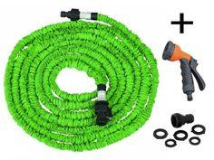 Expandable Garden Hose Including Spray Gun - 50ft (Green) Quality Choices http://www.amazon.com/dp/B00J2TJRAO/ref=cm_sw_r_pi_dp_aFw4wb0E36NHQ