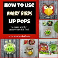 How to Use Angry Birds Lip Pops