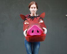 Pumba, disfraz del musical del Rey León  Ligero y cómodo