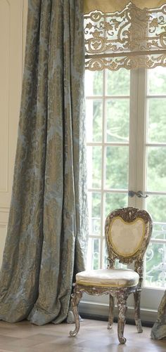 Window Treatmentsold World Curtains And Drapes . Swags and casscades point drapery swag long jabot drapery swag pointed drapery old world curtains and drapes . Wisteria arbor lace window treatments old world curtains and drapes . Design Room, House Design, Interior Design, Design Design, Design Ideas, Window Dressings, French Chateau, Curtains With Blinds, Drapery Panels