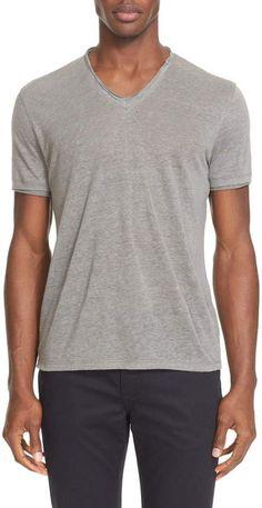 Navy Multi Peace Sign S//S Men/'s T-Shirt NWT $88 Choose Sz John Varvatos U.S.A